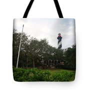 The St. Augustine Light Station Tote Bag