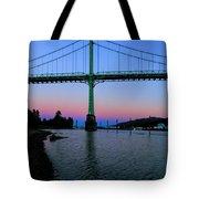 The St Johns Bridge Tote Bag