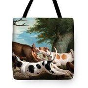 The Stag Hunt Tote Bag