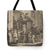 The Stage-coach, Or The Country Inn Yard Tote Bag
