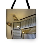 The Stairs To Museum Tote Bag