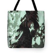 The Stallion At Aztec Tote Bag