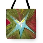 The Star From The Top Of The Tree Tote Bag