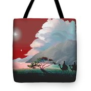 The Star Of Bethlehem Tote Bag