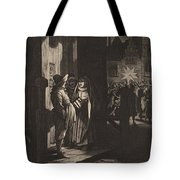 The Star Of Kings, A Night Piece Tote Bag