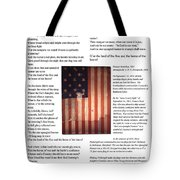 The Star-spangled Banner Tote Bag