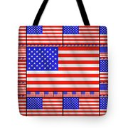 The Stars And Stripes 2 Tote Bag