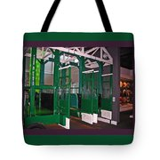 The Starting Gate Display In The Kentucky Derby Museum Tote Bag