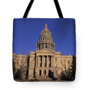 The State Capitol Building Tote Bag