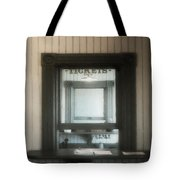 The Stationmaster's Window Tote Bag