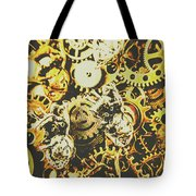 The Steampunk Heart Design Tote Bag