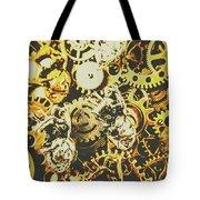 The Steampunk Heart Design Tote Bag