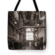 The Stegmaier Brewery Boiler Room Wilkes Barre Pennsylvania 1930's Tote Bag