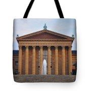 The Steps Of The Philadelphia Museum Of Art Tote Bag