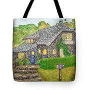 The Stone Cottage  Tote Bag