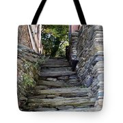 The Stone Stairs Tote Bag
