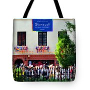 The Stonewall Inn National Monument Tote Bag