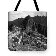 The Stonework Of Machu Picchu Tote Bag