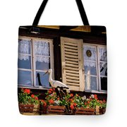 The Stork Has A Delivery - Colmar France Tote Bag