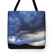 The Storm Above Tote Bag