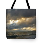 The Storm Comes Tote Bag