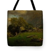 The Storm, George Inness Tote Bag