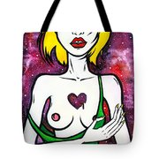 The Story Of A Broken Heart Tote Bag