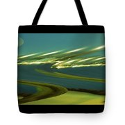 The Story Of Waves And Wind Tote Bag
