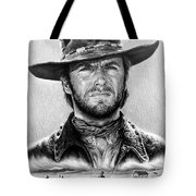 The Stranger Bw 1 Version Tote Bag by Andrew Read