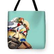 The Street Artist Tote Bag
