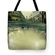 The Street Fall Tote Bag