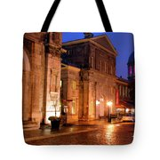 The Streets Of Montreal Tote Bag