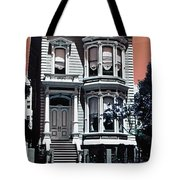 The Streets Of San Francisco Tote Bag