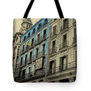 The Streets Of Toledo Tote Bag