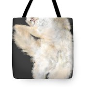 The Stretching Cat Tote Bag