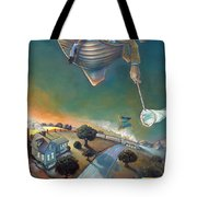 The Strife Of Wanderlust In A Dream Tote Bag