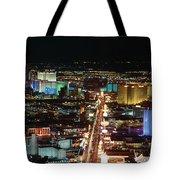 The Strip At Las Vegas,nevada Tote Bag