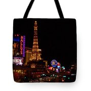 The Strip At Night 1 Tote Bag