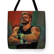 The Strongman Tote Bag