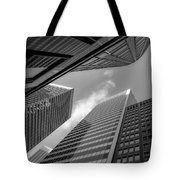 The Structures Of San Francisco 3 Tote Bag