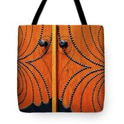 The Studded Door Tote Bag