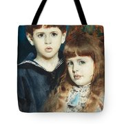 The Stuer Twins Tote Bag