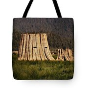 The Stumps Have Eyes Tote Bag