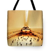 The Stunning Oculus In New York  Tote Bag