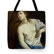 The Suicide Of Lucretia 1640 Tote Bag
