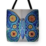 The Summer Butterfly Tote Bag