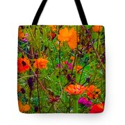The Summer Flower Party Tote Bag