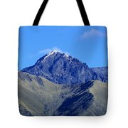 The Summit Of Mount Cotacachi Tote Bag