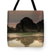 The Sun And Rocks Tote Bag