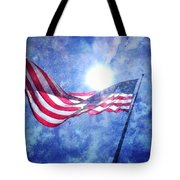 The Sun And The Flag Tote Bag